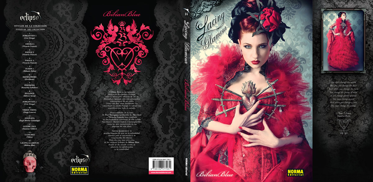 Lacing Glamour book cover