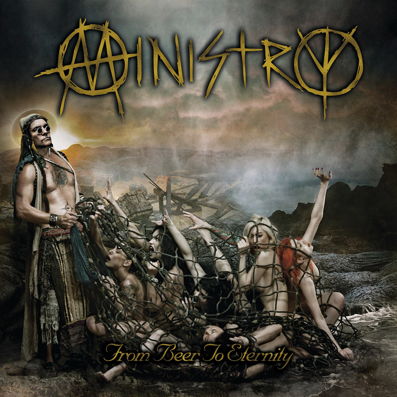 Ministry from Beer to Eternity album cover
