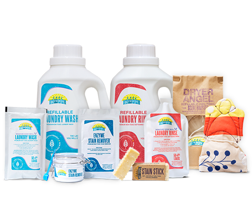 MyGreenFills is on a mission to transform laundry day by delivering safe, non-toxic products and eco-friendly refills straight to your door, on your schedule.