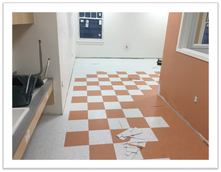 New Therapy Room Flooring
