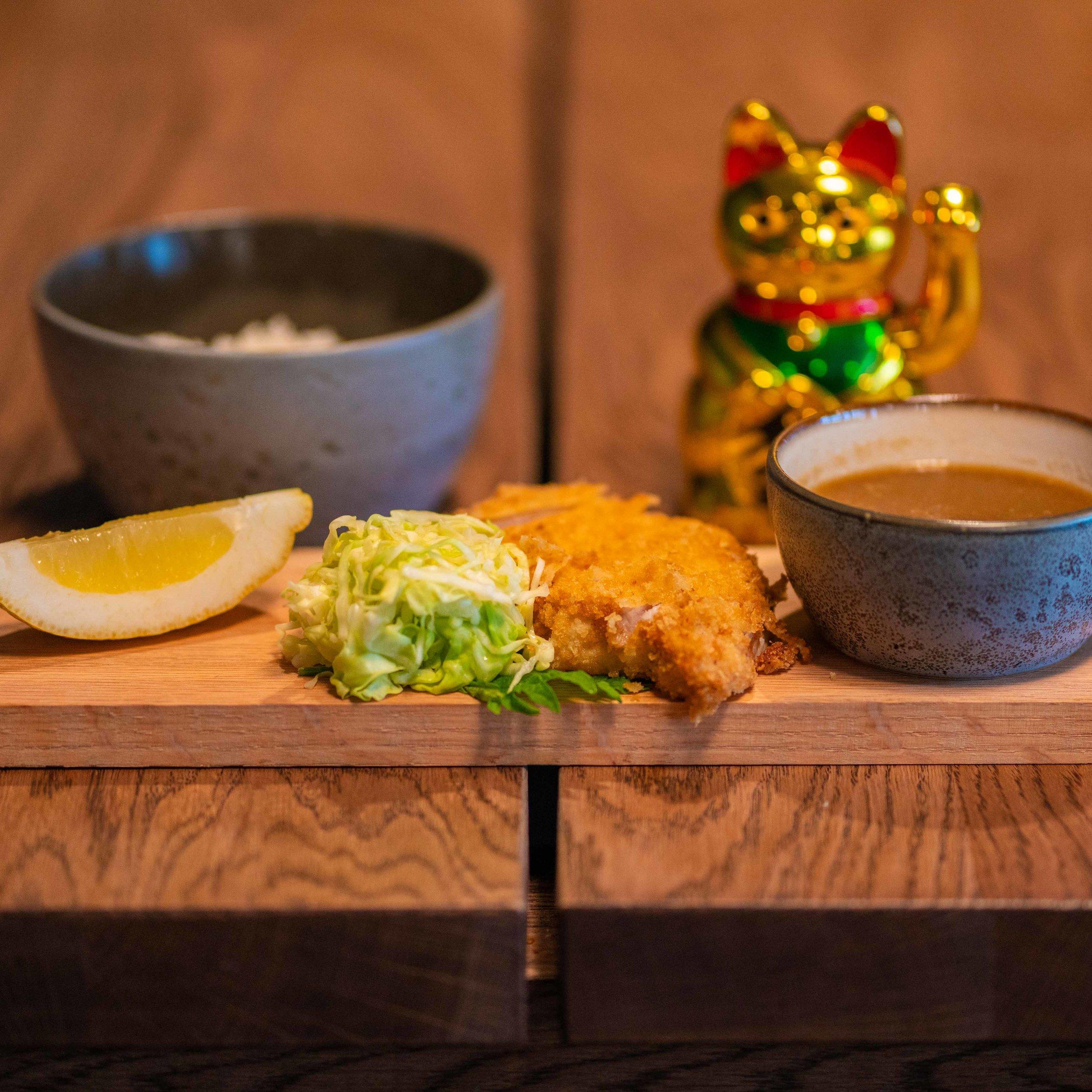 Tonkatsu with Pork 📸 Kahuna Creative