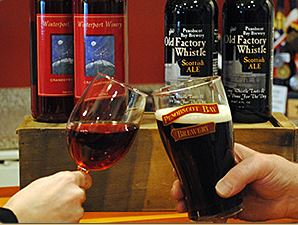 winterport winery and penobscot bay brewery in maine