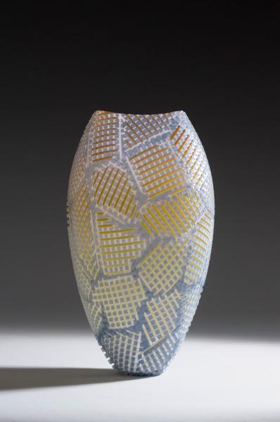 Grey Plaid Quilt, 2011