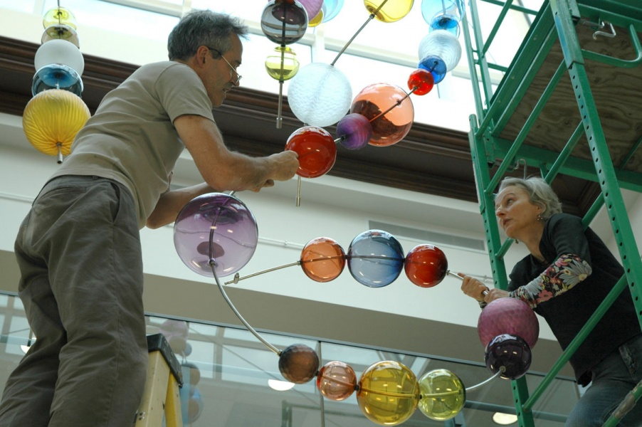 Slide of Spheres, 2006