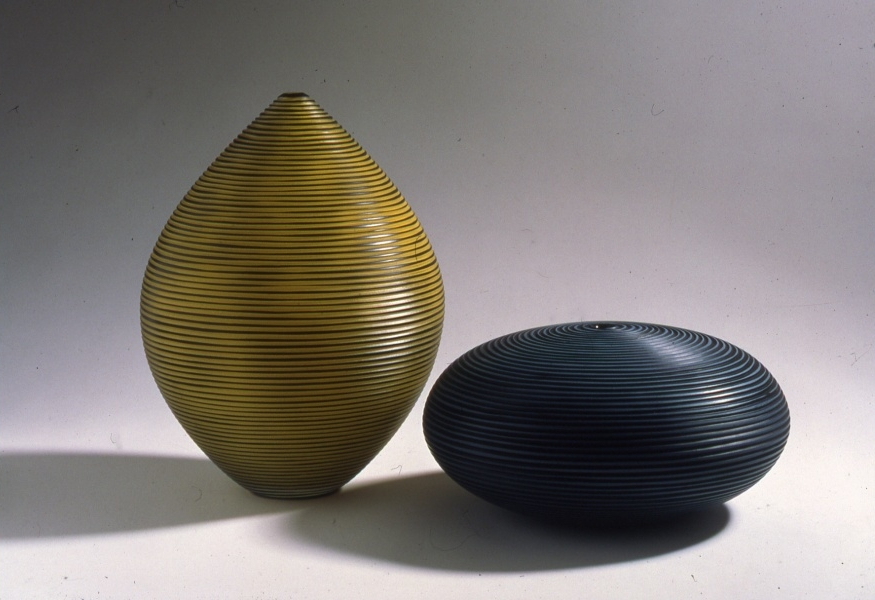 Yellow Horizon + Grey and Black Watcher, 1998