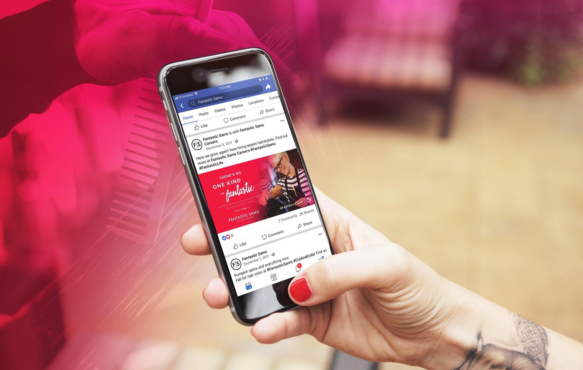 Fantastic Sams - Social Media Marketing