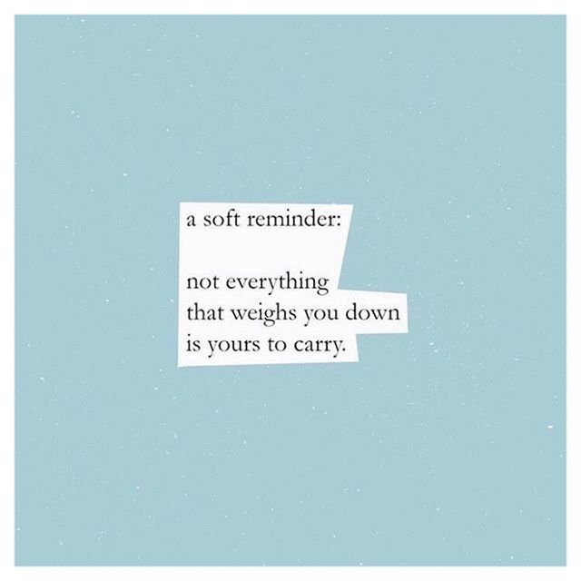 Not all that you carry is yours. Most of the time it's energy you pick up from your environment.  If it's heavy and holding you down, let it go. If it doesn't honor you, hurts you instead, let it go. If it makes you doubt your journey, and even who you are, let it go.   Environment is key to our growth. The kind of environment we choose to allow ourselves to be in is telling of whether or not we will continue moving forward, continue progressing, and continue growing.   Securing a healthy environment that honored me and my growth was key to manifesting the life I live now. My life a few years ago is completely different from what it is now because of the way I was able to secure a better environment for myself, my healing, and my growth. It allowed me to continue to attract into my life so many things that I had once only dreamed of.   Take a look around you. Are the things and people in your environment supporting your growth? Or are they distractions and blocks keeping you from growing and moving forward? 