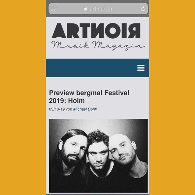 Interview with @artnoir_musik_magazin —  link in bio👉🤙💋🐳💫🏖 @bergmalfestival @quietloverecords @dimitrikaech @jdvarghese @alessgiannelli @holmisanisland  #interview #artnoirmusikmagazin #holm #holmsweetholm #holmisanisland #post #postrock #ambientrock #ambient #art #noir #live #music  #quietloverecords #bergmal #wale
