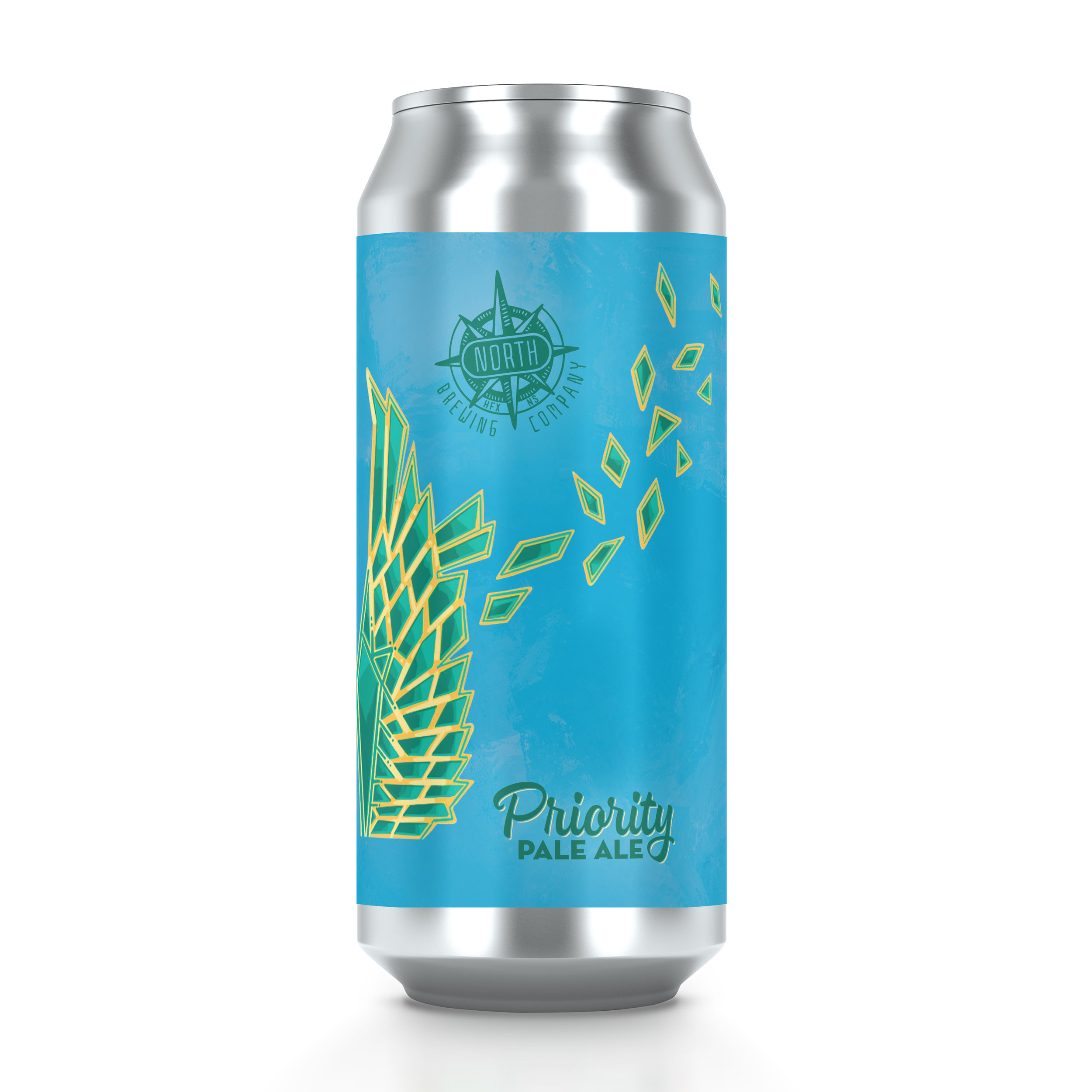 Priority Pale Ale    ABV 5%    Hops: Cascade & Columbus     Yeast: California Ale Yeast (White Labs)