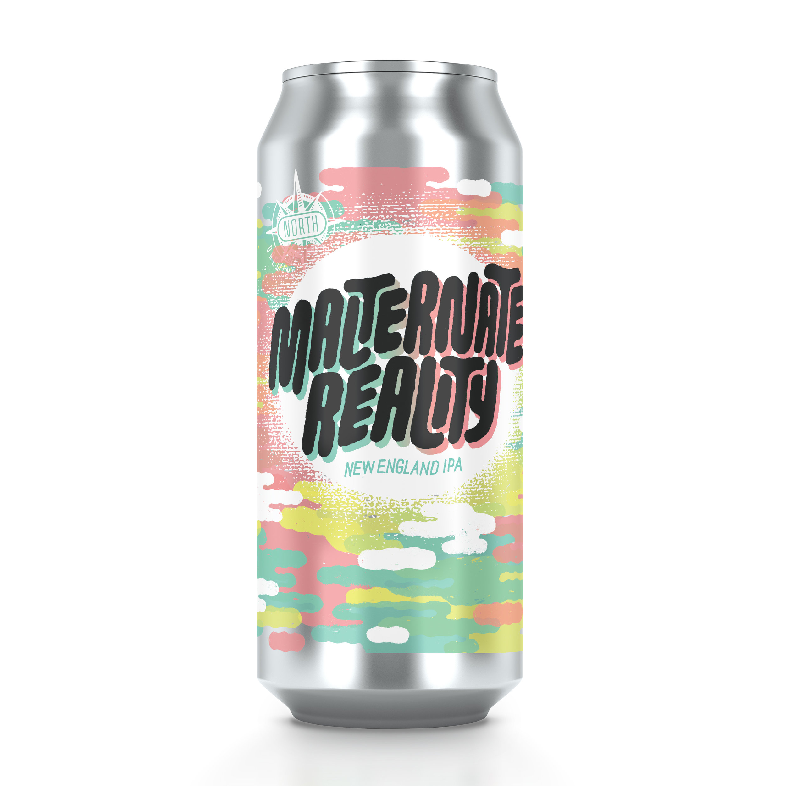 Malternate Reality NE IPA   ABV 6.3%    Juicy New England Style IPA    Hops: Mosaic    Yeast: Vermont Ale Yeast (Escarpment Labs)