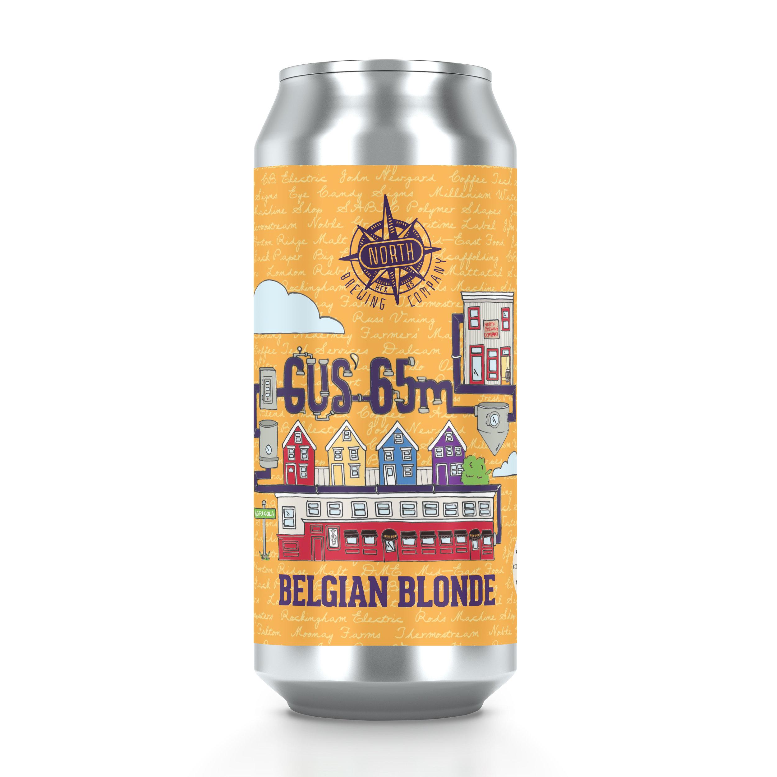 Gus' 65M Ale - Belgian Blonde