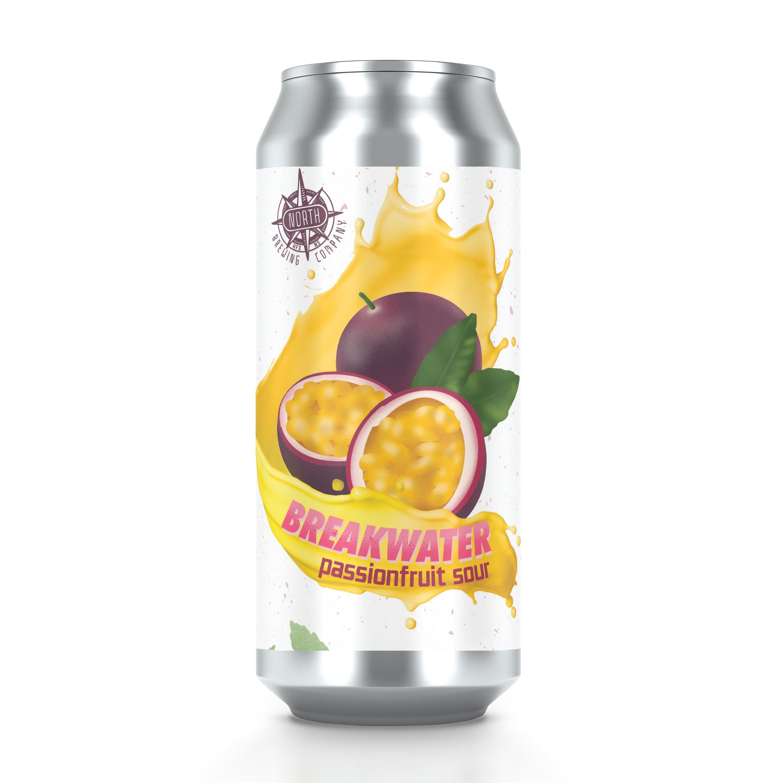Breakwater Passionfruit Sour