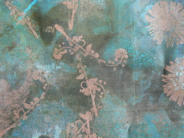 Nature printed mesh.
