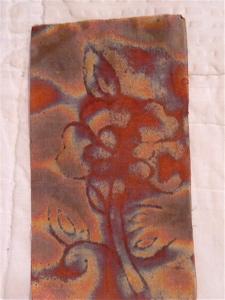 Metal mesh printed on by textile block 2.