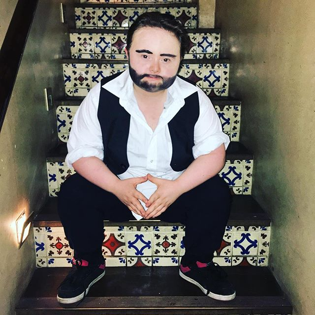 Justin Bond  #dragsyndrome #drag #dragking #downsyndrome