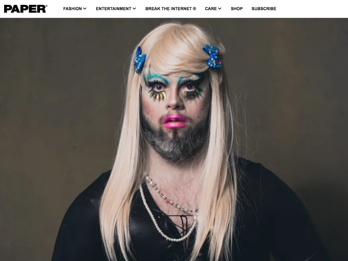 Paper Mag  Drag Syndrome Shines a Light on Inclusivity  >>>
