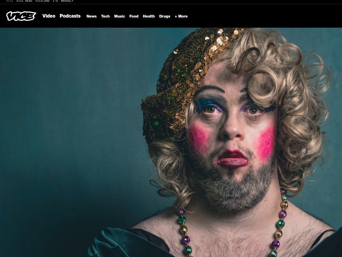 Broadly/VICE  The Drag Troupe For Kings and Queens With Learning Disabilities  >>>