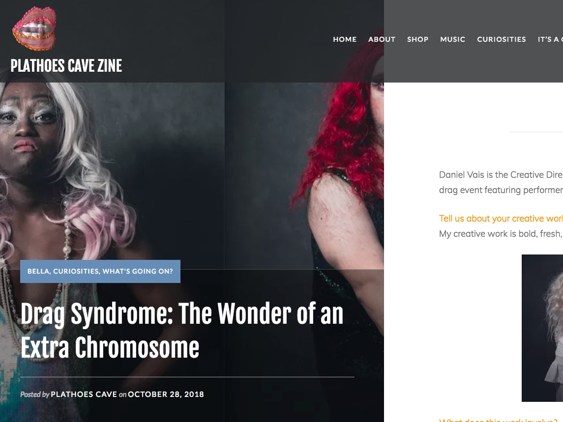 Plathoes Cave Zine  Drag Syndrome: The Wonder of an Extra Chromosome  >>>