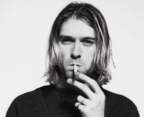 You don't have to fit in to stand out. Kurt Cobain said so.