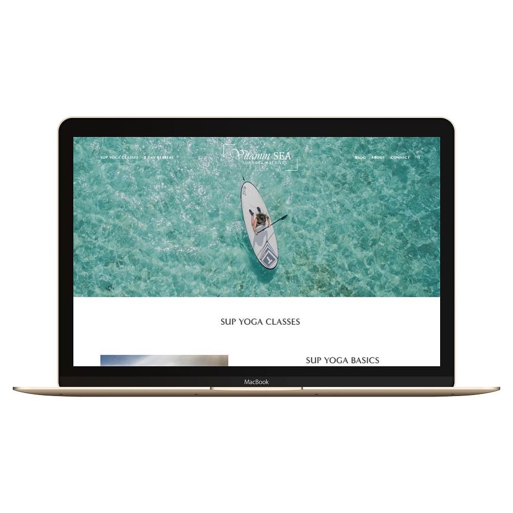 4 Vitamin Sea Mock web design project.jpg
