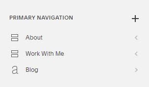 main navigation