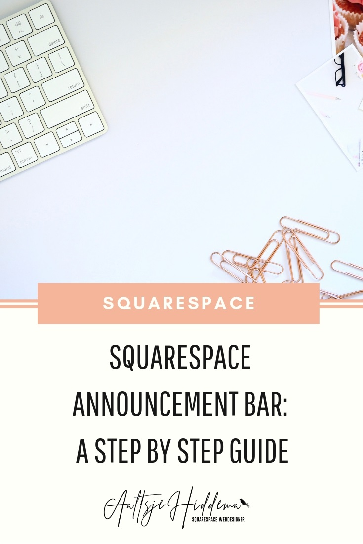 squarespace announcement bar step by step guide