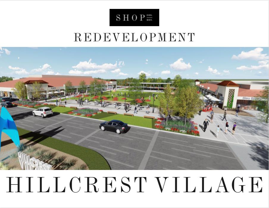 hillcrest village redevelopment