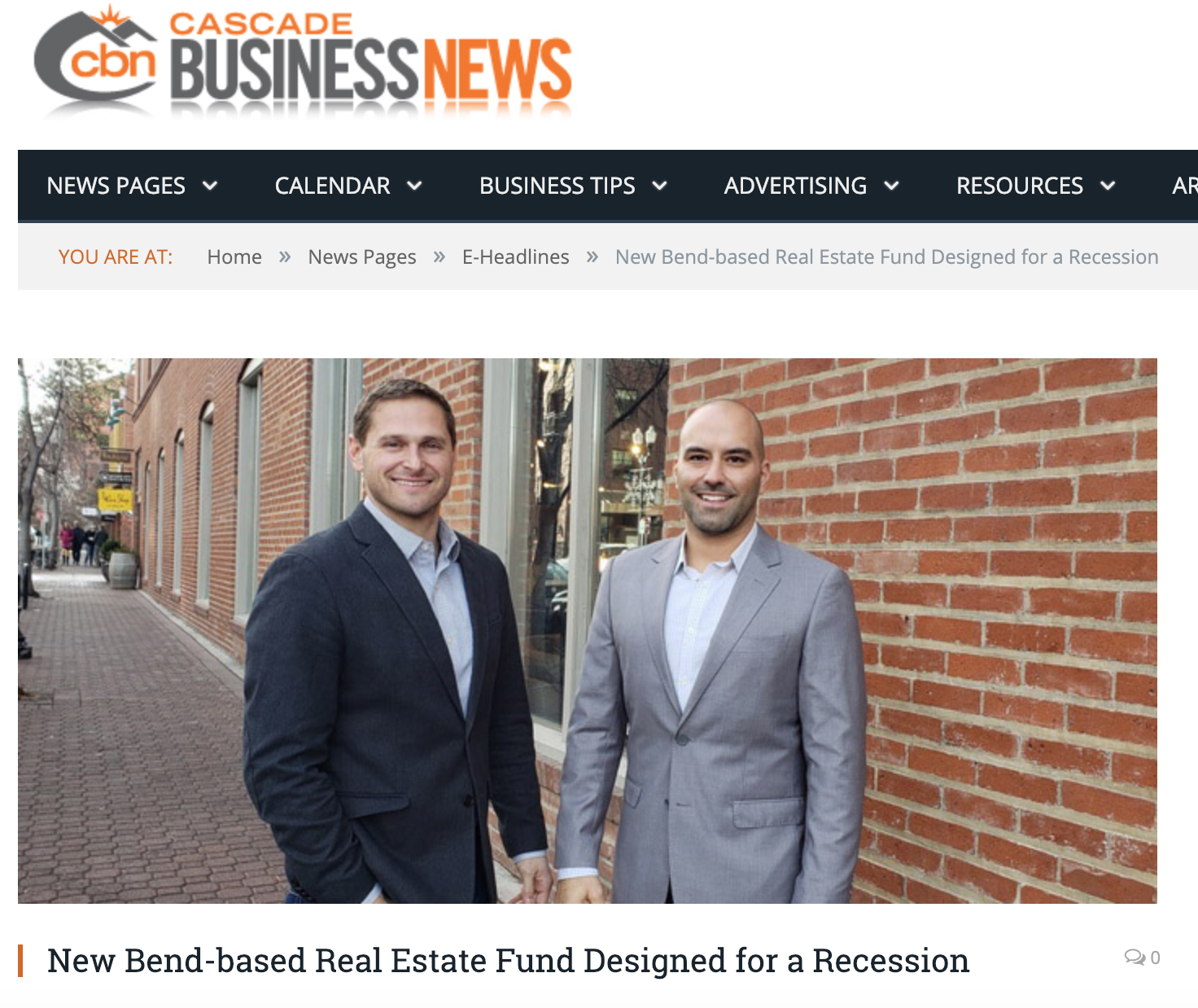 cascade business news