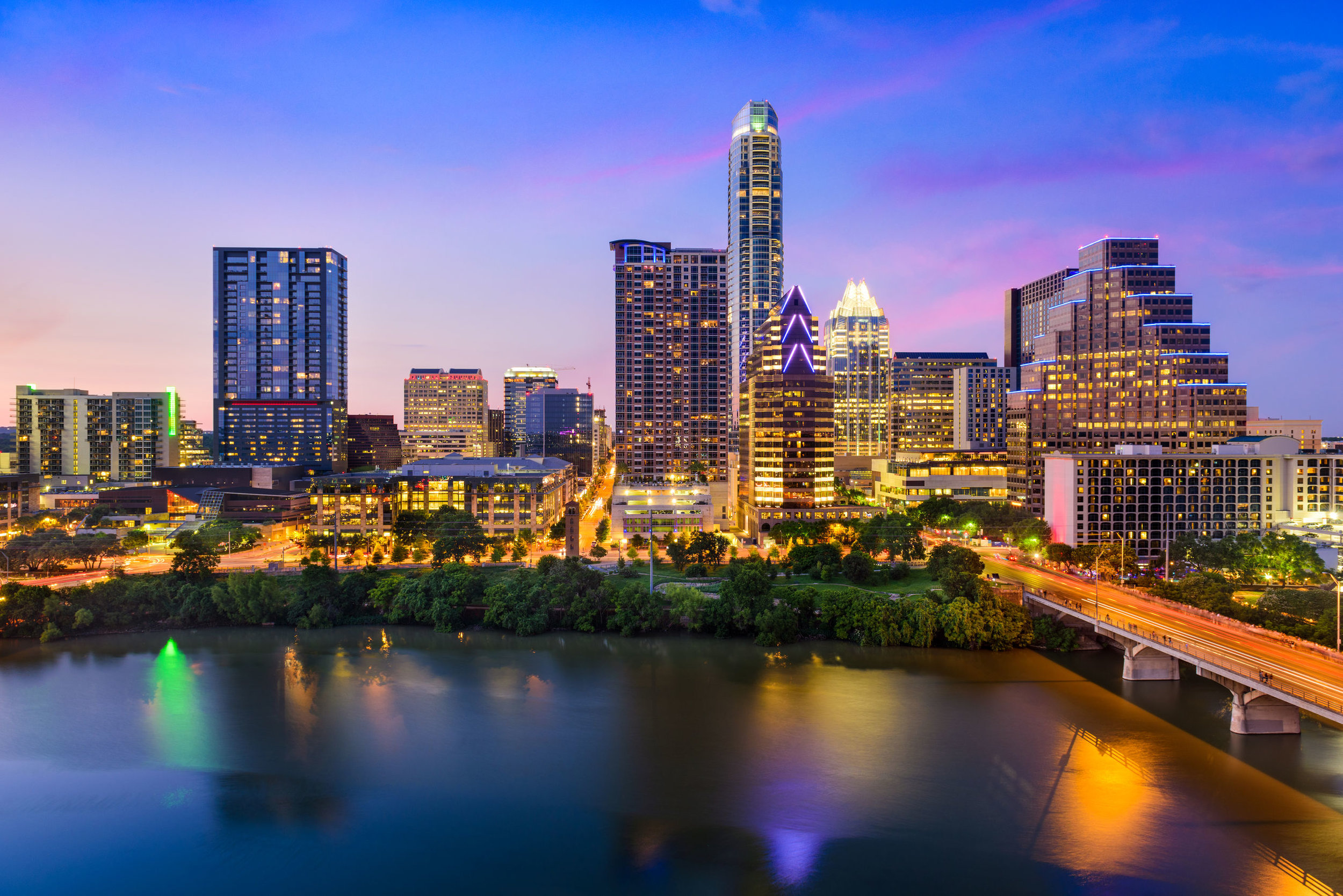 Where we are investing…a spotlight on Texas - The downtown Austin, TX expanding skyline signifies its growth as one of the fastest growing cities in the US.This is why we own equity positions in 14 properties in Texas, 8 of these are in the Recession Resistant Fund.