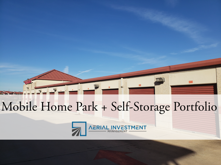 mobile home park and self storage investment