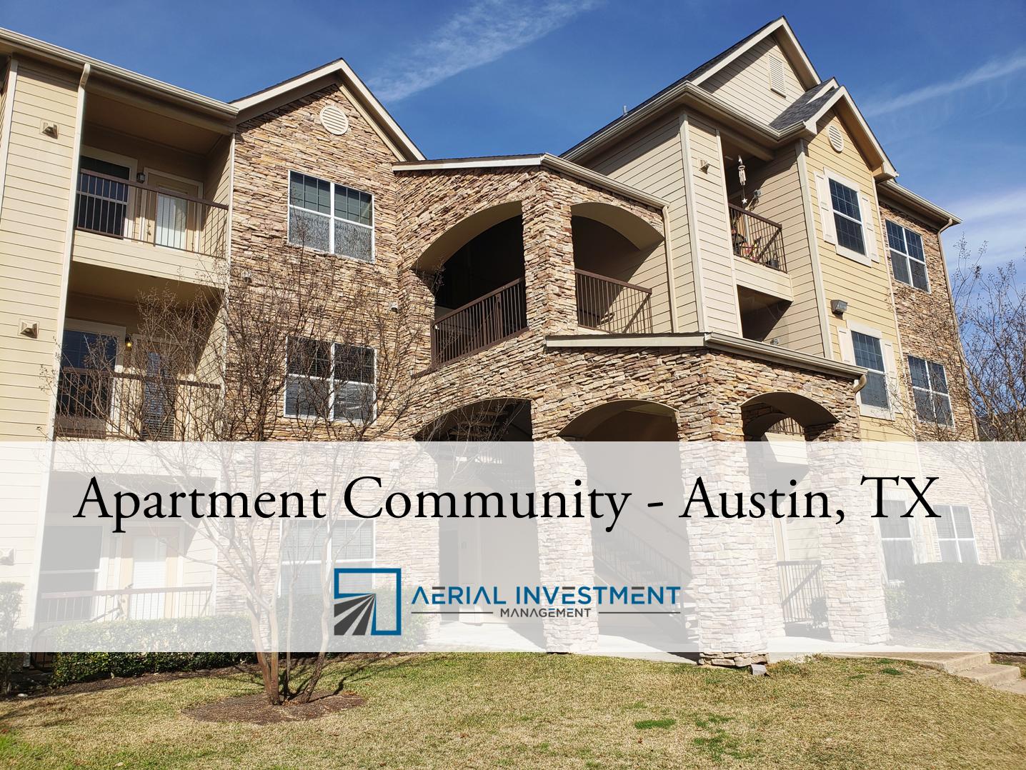 Austin Texas Apartment Community