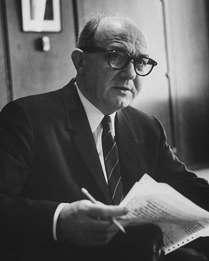 Dean Rusk , U.S. secretary of state under Presidents Kennedy and Johnson