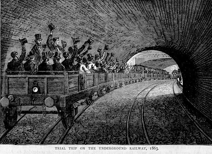 QUESTION 2 | History - In 1863, what city became the first city in the world to open an underground railway?