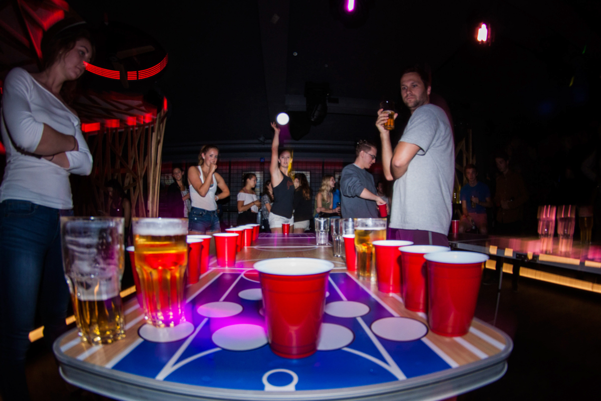 QUESTION 3 | Sports & Games - In a standard game of Beer Pong, how many total cups are on the table at the start of the game (NOT including water cups)?