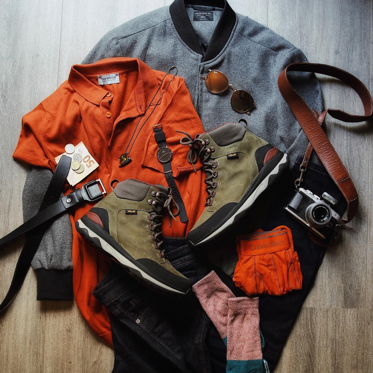 What I'm wearing: John Smedley polo shirt, 7Diamonds bomber jacket, Dr Denim jeans, Teva boots, Salvatore Ferragamo belt, Daniel Wellington watch, Ray-Ban sunglasses
