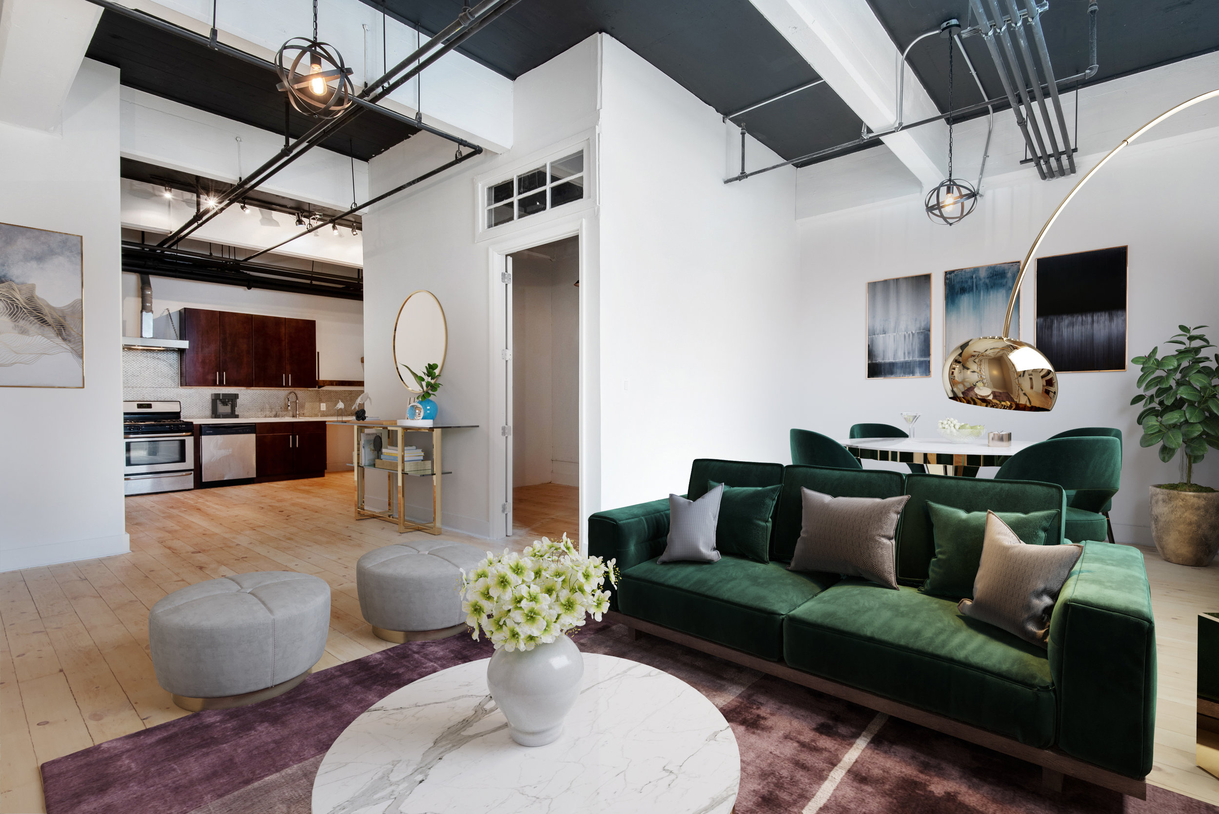 350 Manhattan Ave, 102 - Williamsburg | Brooklyn    2 Bedroom // 1 Bath Leased Price:    $3,600
