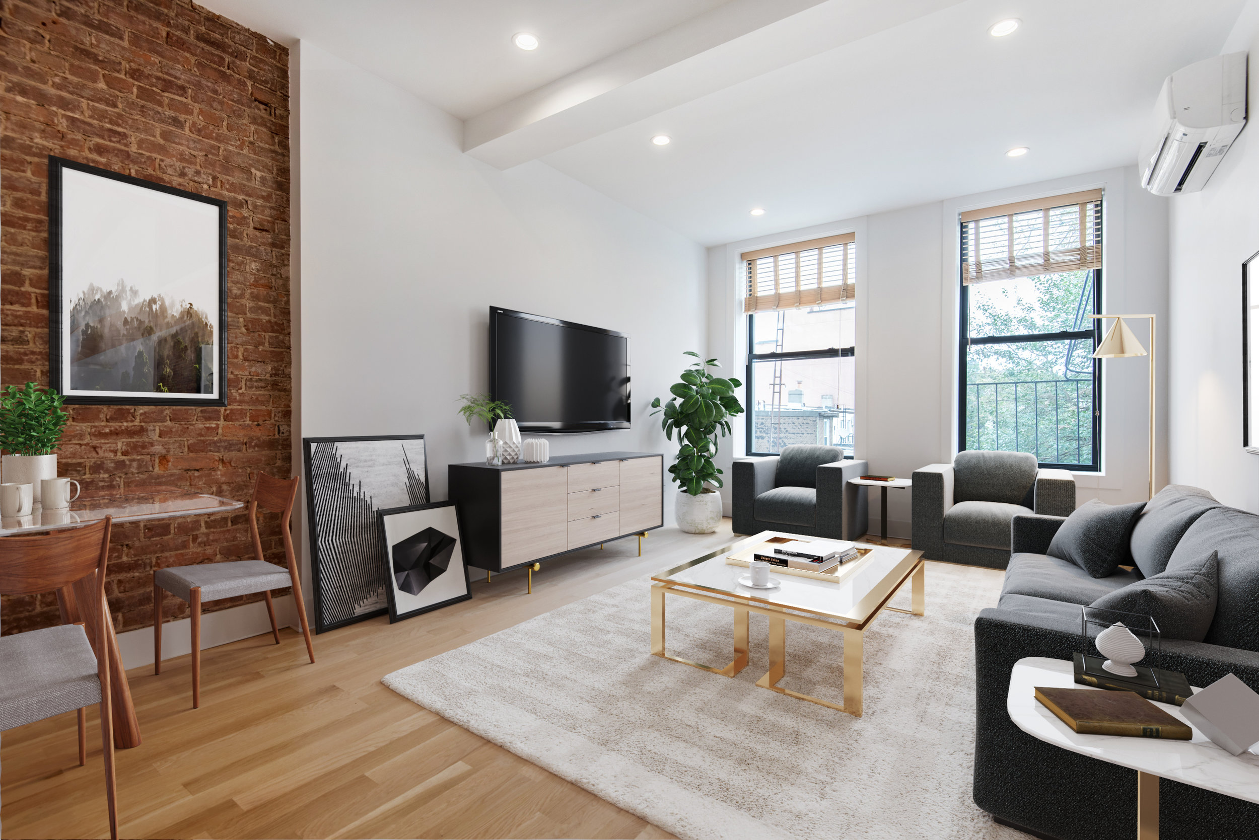 1008 Manhattan Ave, 2A - Greenpoint | Brooklyn    2 Bedroom // 2 Bath Leased Price:    $3,450