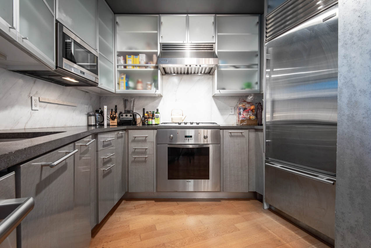 Designer kitchen boasts high end appliances