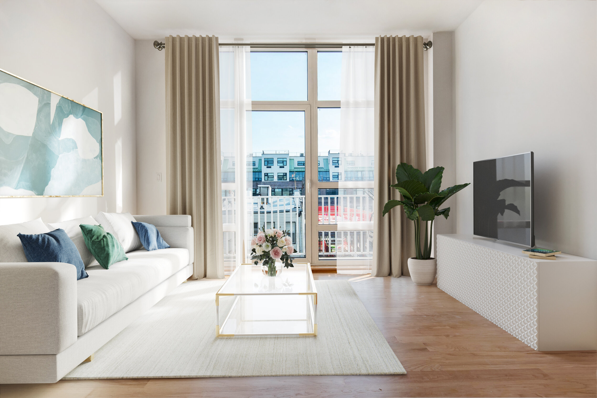 90 North 5th St #4D - Williamsburg | Brooklyn    2 Bedroom // 2 Bath Days on Market — 40 Sold Price:    $1,090,000