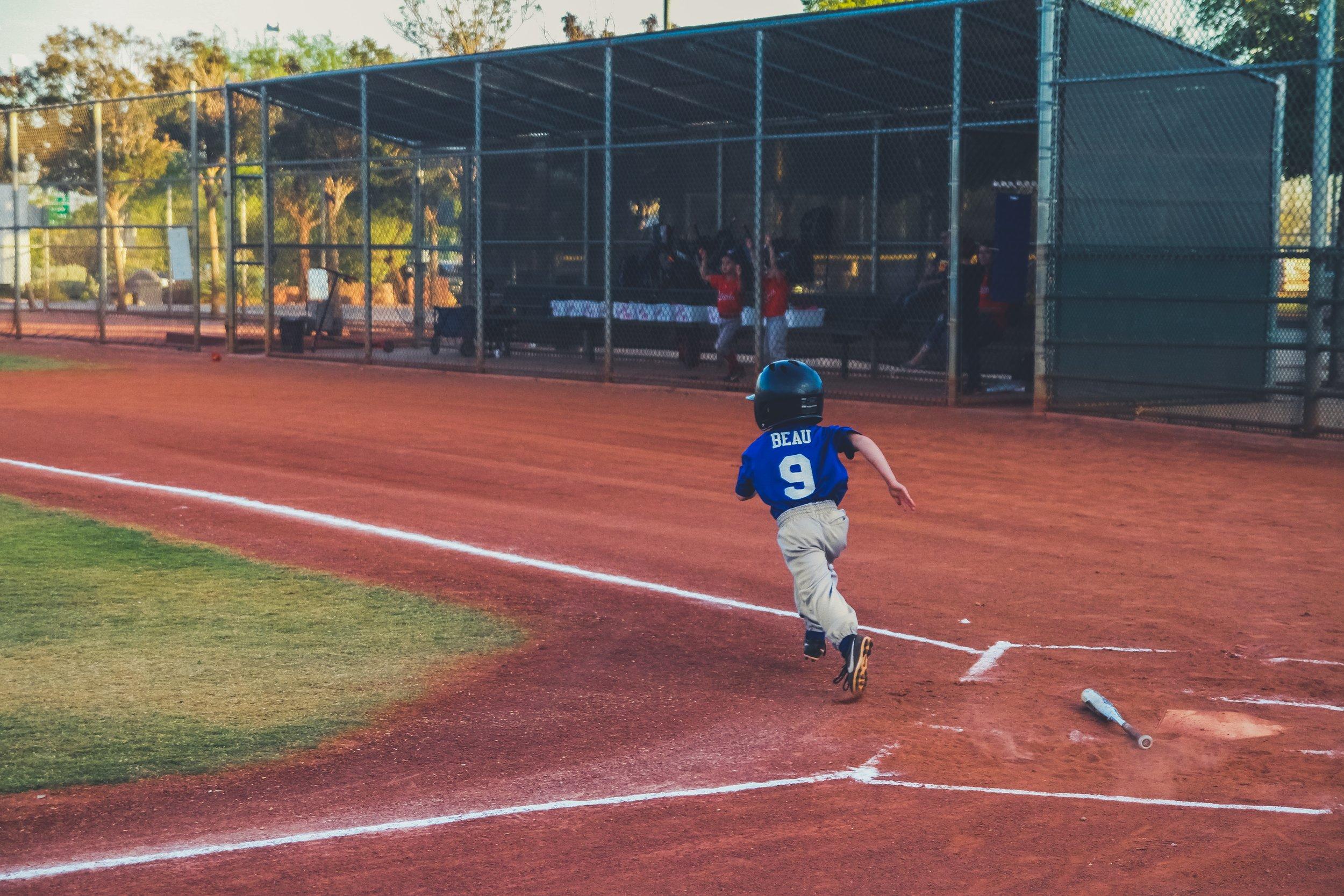 Supporting Baseball Teammate