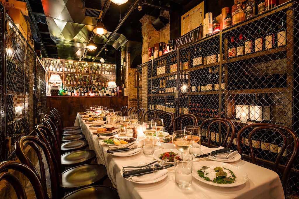 Gran Tivoli Private Wine Cellar for Events
