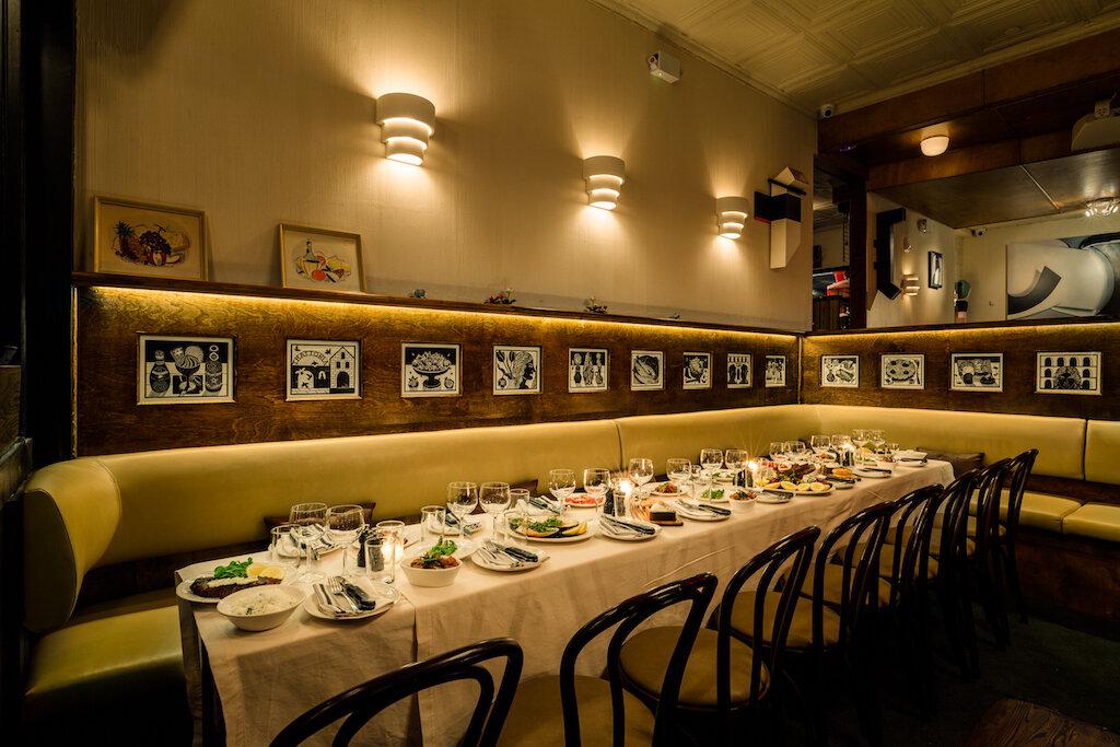 Gran Tivoli Dining Area with Banquette