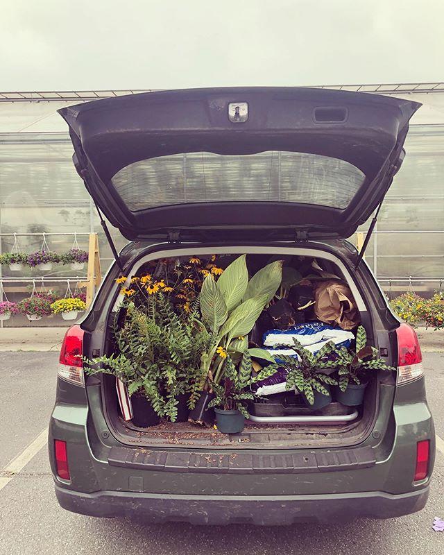 Car full, heart full. @subaru_usa 🙏🏻🙏🏻🙏🏻