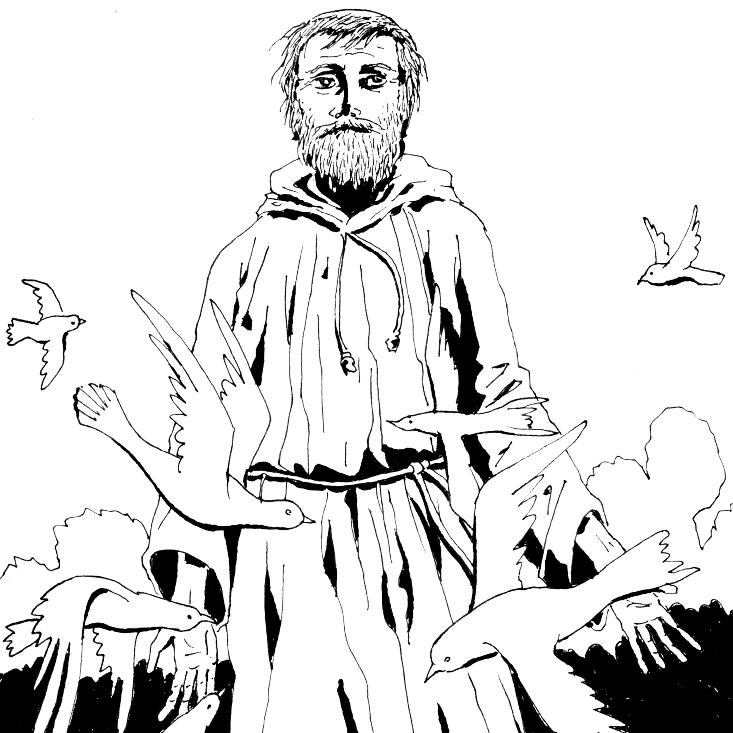Zechariah visions coloring pages   1000x1000