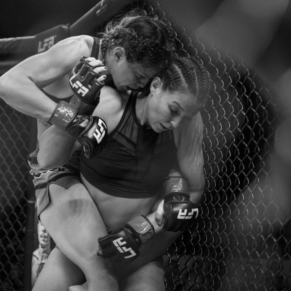 Lisa Mauldin - After signing a multi-fight deal with LFA, she made her debut against hometown favorite Kaytlin Neil. After 3 rounds of back and forth action, Lisa scored enough strikes and takedowns to secure the split decision victory.