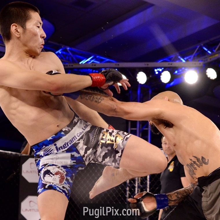 Yuma Horiguchi - Yuma fought a hard-hitting opponent in Benji Gomez last Saturday for LXF. Benji Gomez defeated team mate Ron Scolesdang two months ago, making this match special for Yuma, as it was his chance to avenge Rons loss. 3 dominant rounds filled with leg kicks resulted in a unanimous decisions victory for Yuma. This makes his official Team Oyama MMA debut a success.