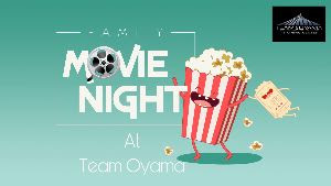 Join us as we host our very first Team Oyama Movie Night!  We will be watching Shazaam on a 152 inch outdoor monitor.  Please bring a favorite dish and a chair since we will be screening the movie behind the gym.  630pm at Team Oyama MMA and Fitness