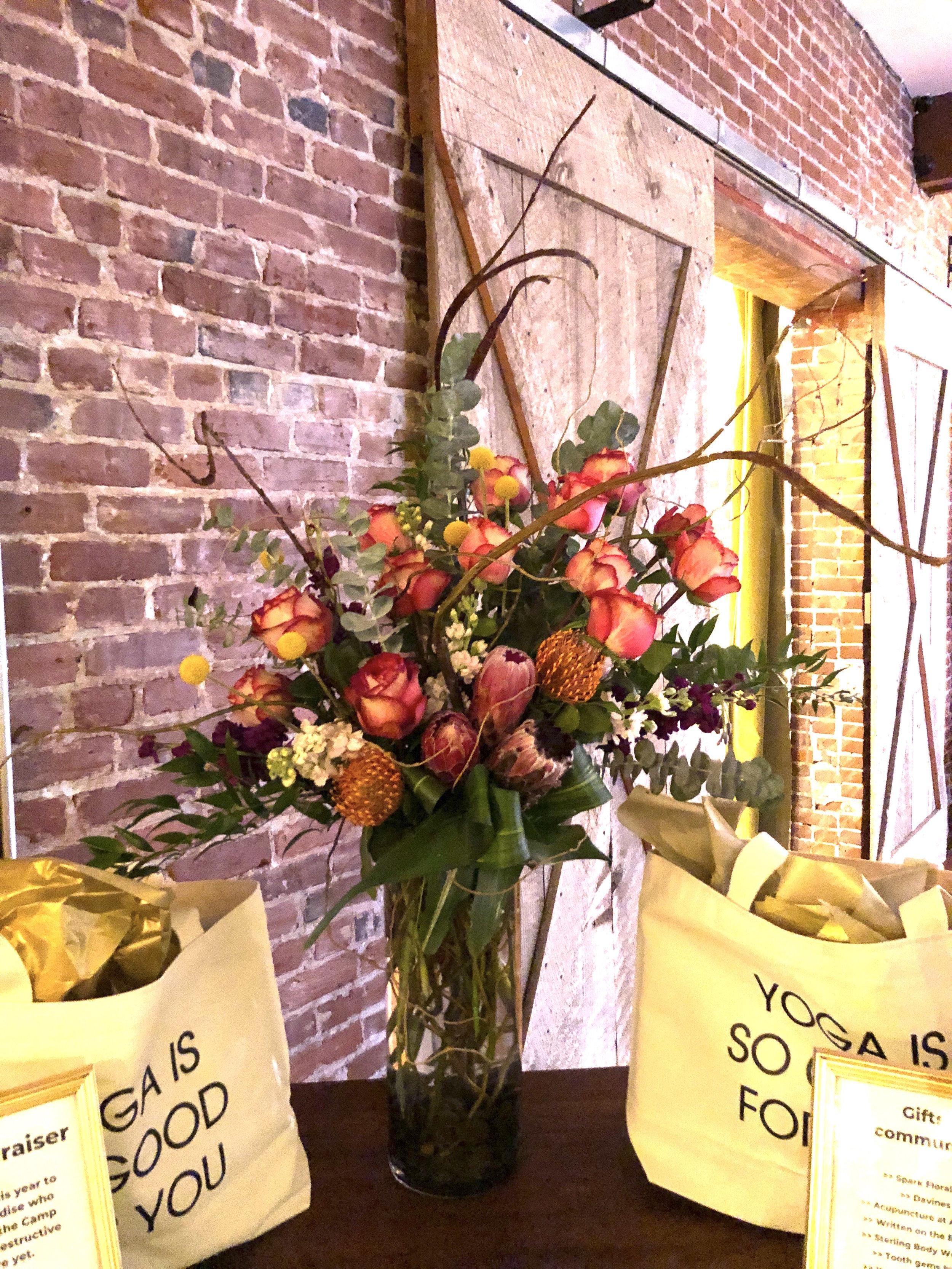 Fabulous Anniversary Party Arrangements Spark Floral Design