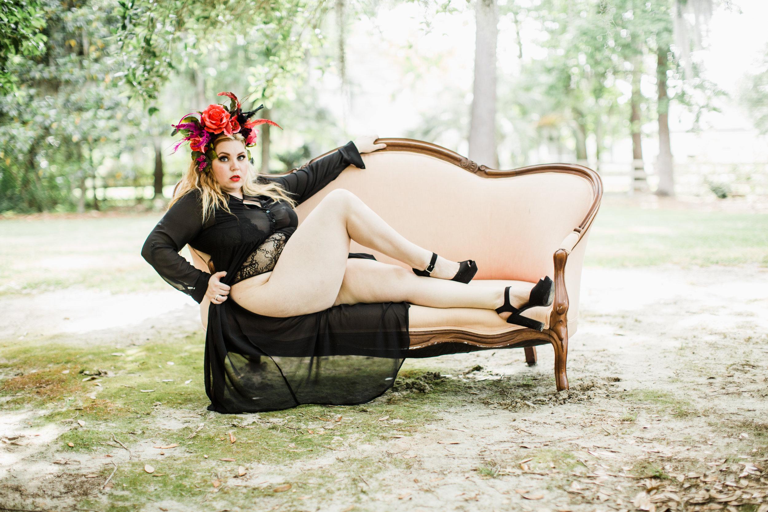 Selena - Body Positive Boudoir