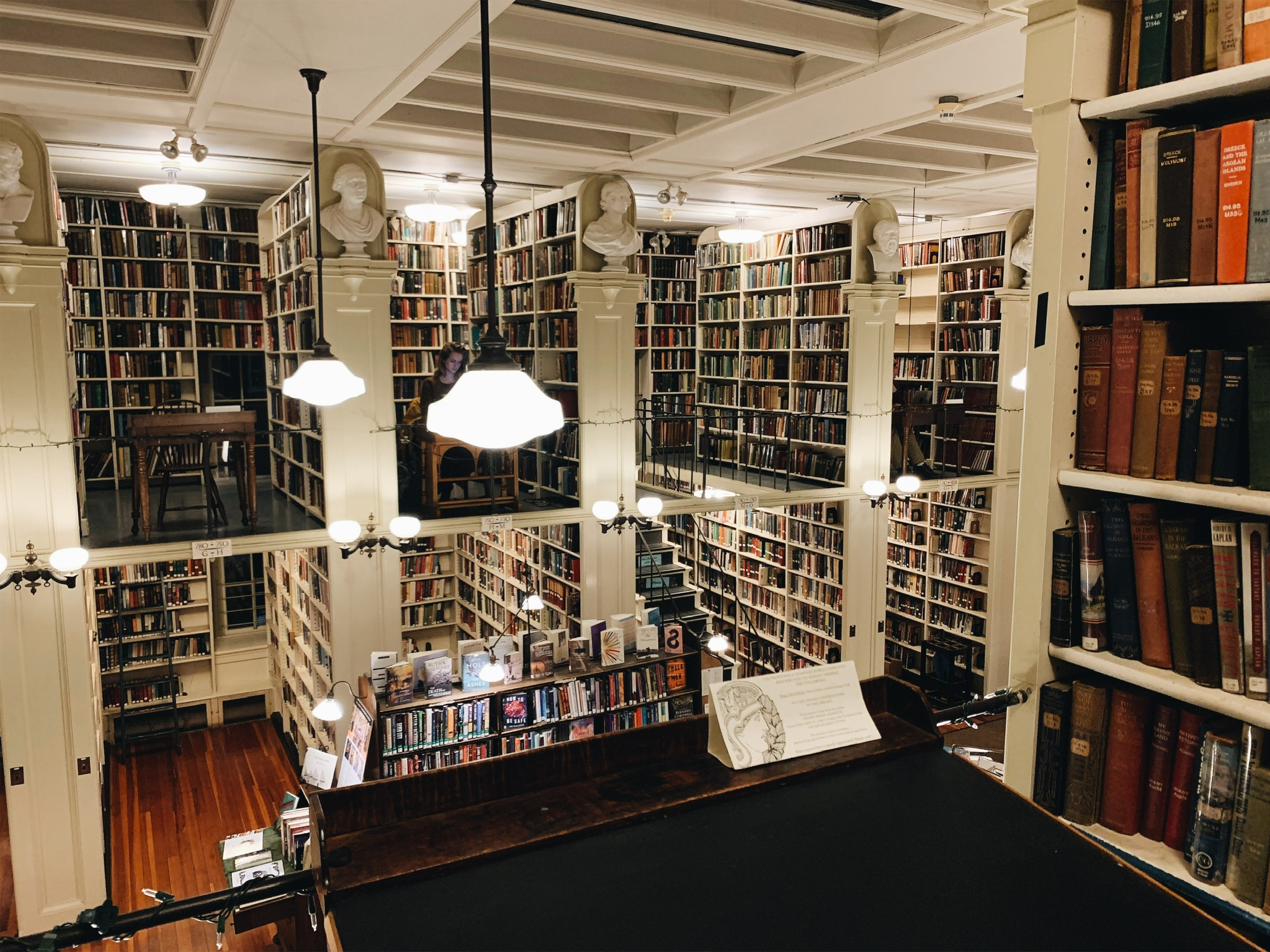 I met the Library of my life in RI